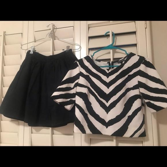 Express Dresses & Skirts - Express 2 piece skirt and shell set